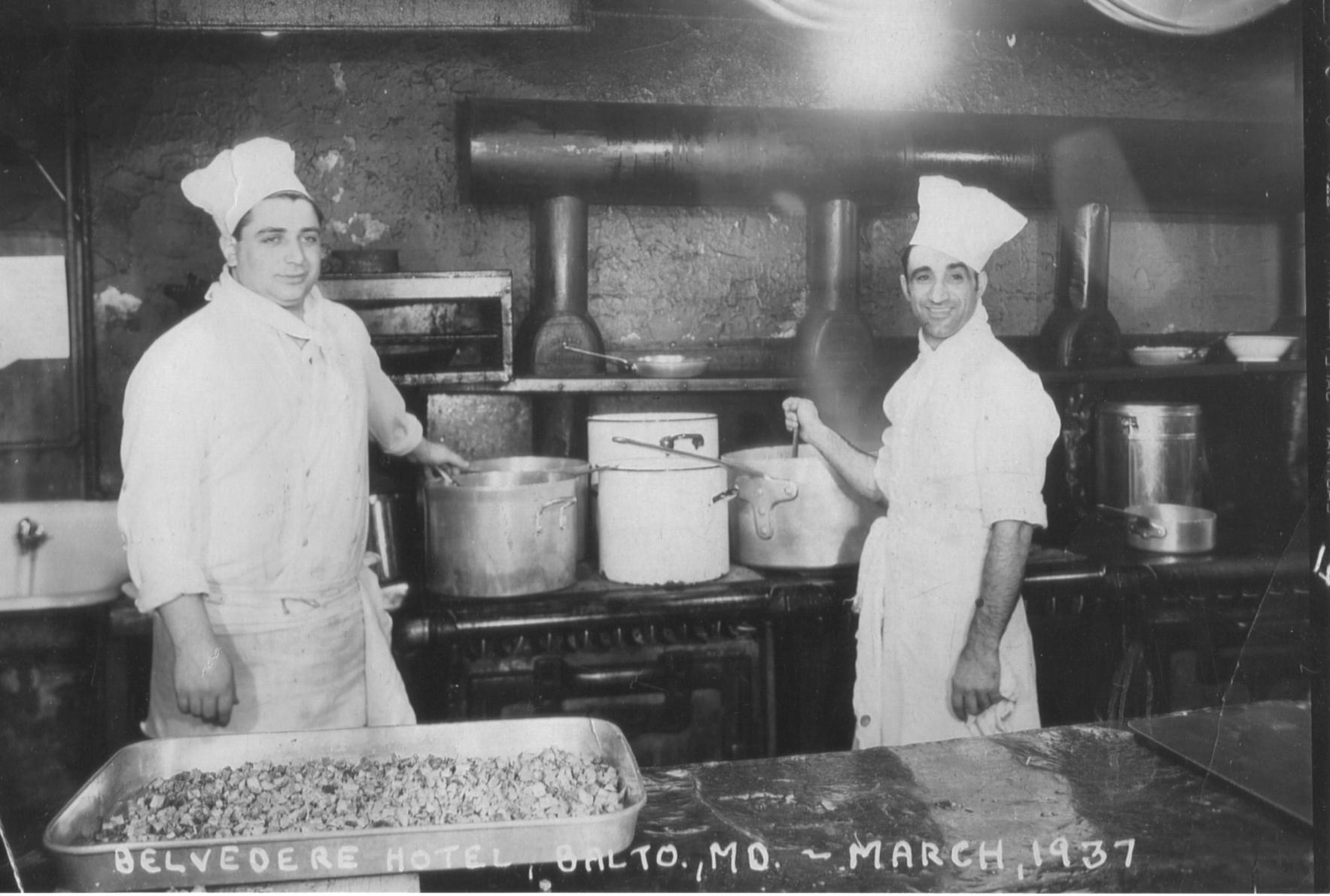 Attilio Spensatelli, Belvedere Hotel, March 1937