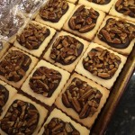 Shortbread Cookies with Dark Chocolate & Pecans